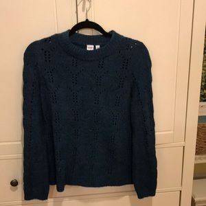Gap Teal Sweater